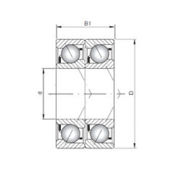 roulements 7310 B-UD CX