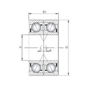 roulements 7312 A-UX CX