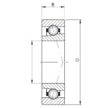 roulements 71819 ATBP4 CX