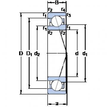 roulements 71905 CE/HCP4A SKF