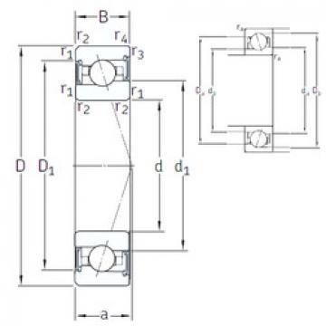 roulements VEX 35 /S/NS 7CE3 SNFA