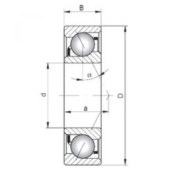 roulements 7224 B CX #1 image