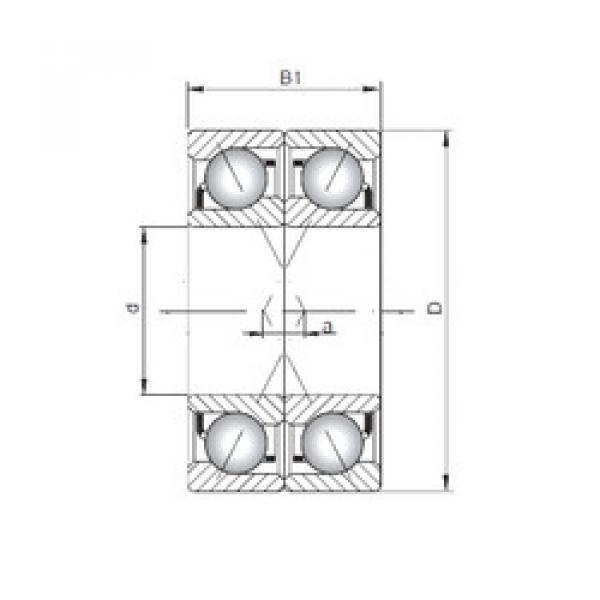 roulements 7308 A-UX CX #1 image