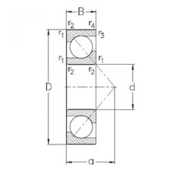 roulements 7311-BECB-TVP NKE #1 image